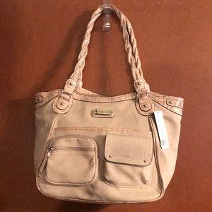 Rosetti Tan Handbag